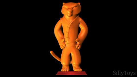 Tigress - Kung Fu Panda 3D print model