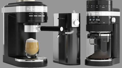 KitchenAid Coffee Collection ( Espresso Machine and Grinder )