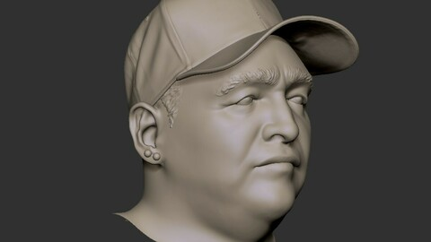 Maradona Bust
