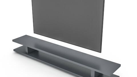 modern tv unit 3D model