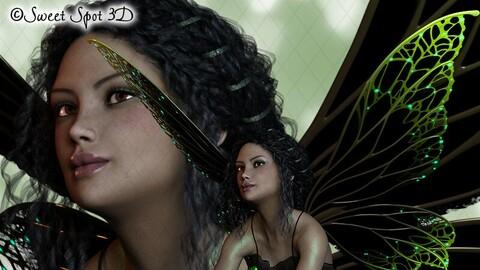 Halloween Fairy Green