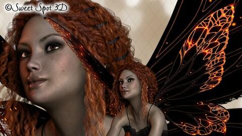 Halloween Fairy Orange
