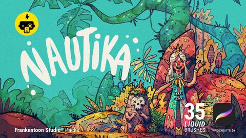 Nautika Procreate Brush Pack