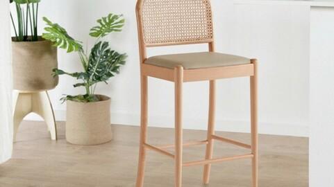 Nadal Rattan Bar Chair