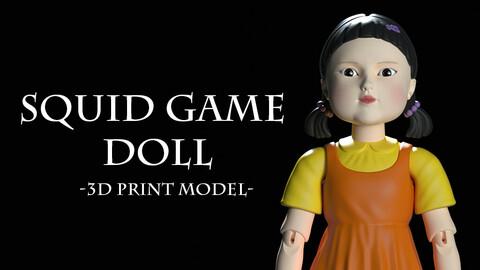 Squid Game - Doll - 3D Print