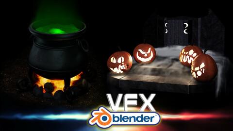 Blender VFX Liquid Smoke & Fire