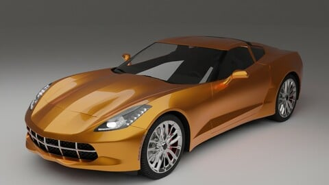 a sports car similar to a Chevrolet