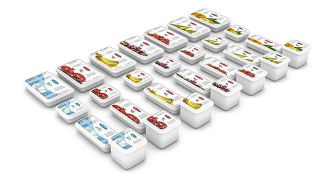 3D frozen fast foods 03 model