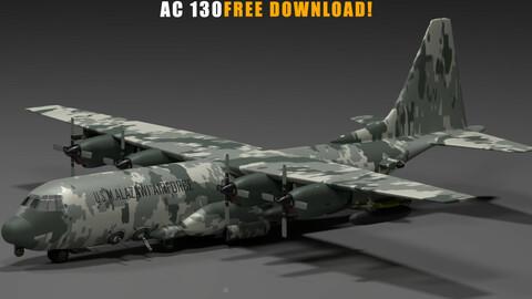 AC 130 free model