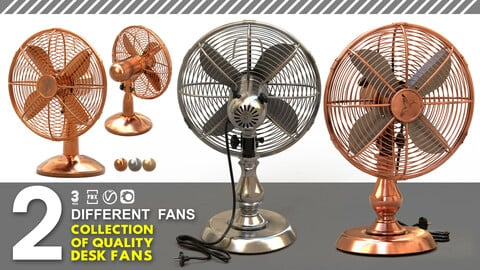 collection of quality desk fans