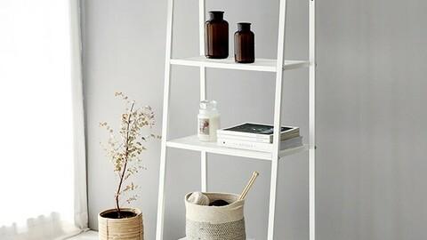 LEITER shelf 4 steps