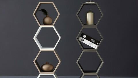 Rofold Space Box Hexagonal 300