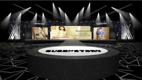 3DS Max 2014 Stage Concert 11