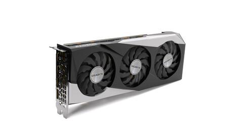 Gigabyte AMD Radeon 6700XT Graphics card - 3D Model