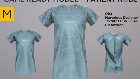 Patient robe Game ready