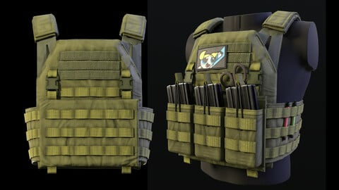 Tactical vest - Game Ready