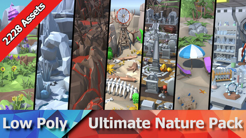 Ultimate Low Poly Nature Pack