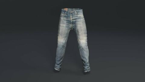 Demin Jeans (Game Ready / 2K PBR)