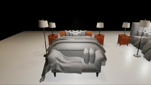 Luxury Bedroom HDRP