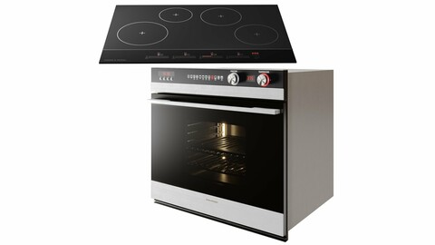 Fisher & Paykel Cooktop and Built-in Oven