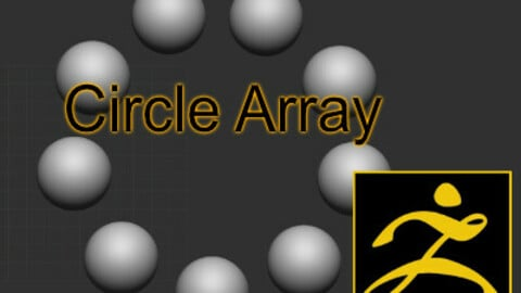 Circle Array for Zbrush