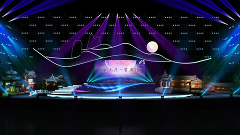 3DS Max 2014 Stage Concert 40