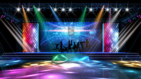 3DS Max 2014 Stage Concert 46