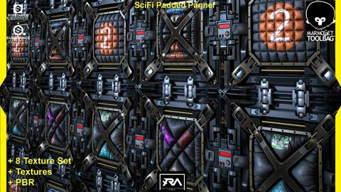 80 Scifi Pannels Textures