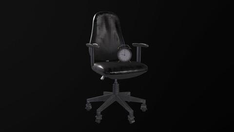 Worn Desk Chair