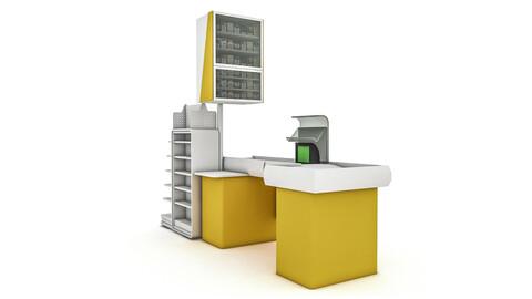 the cash register department 02 3D