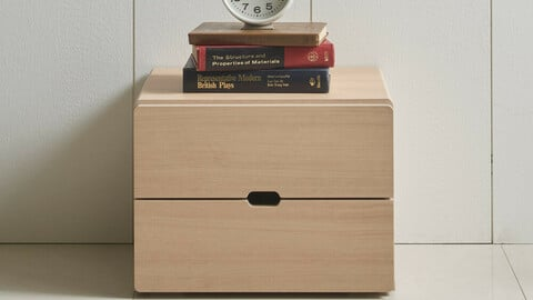 Rio 400 2-tier chest of drawers
