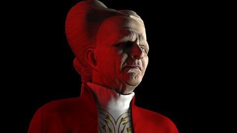 Dracula model for 3d printing