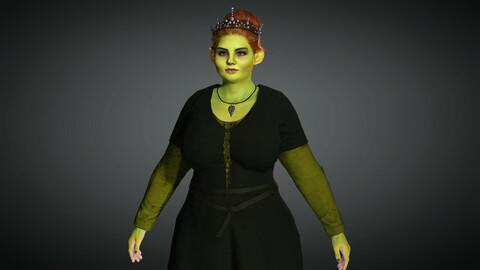 Comics Character 07 ( Princess Fiona )