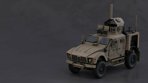 Oshkos military vehicle