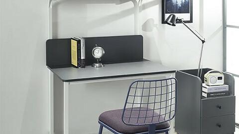 Modern Steel 900 Desk Shelf Type