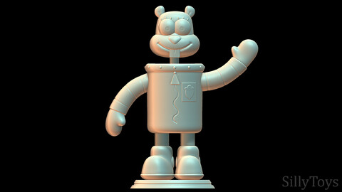 Sandy Cheeks SpongeBob SquarePants 3D print model