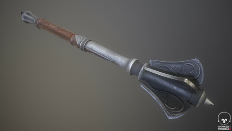 Steel Flanged Mace