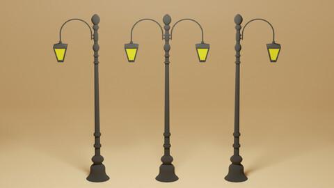 Cartoon Street Light