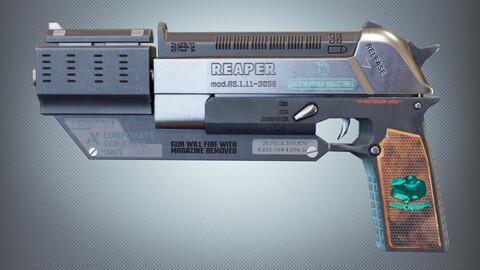 REAPER Sci-Fi Pistol