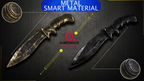 Metal Smart Material - Adobe Substance 3d Painter