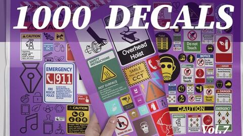 1000 Decals vol.7