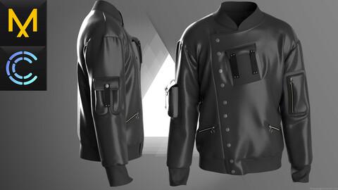 New Concept Jacket  Male Obj Fbx ZPRJ