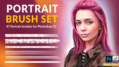 Portrait brush set