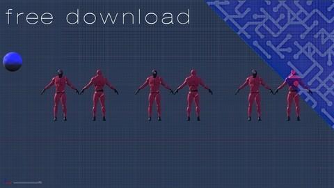 UE 4 : Squid game  soldiers