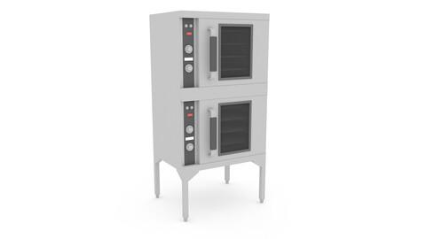 3D model 3d industrial oven