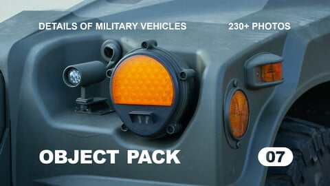 Details of Military Vehicles / Reference pack / Obj Pack 07
