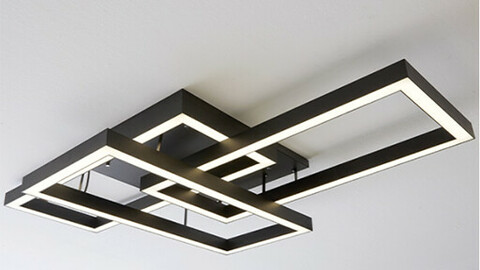 LED Erba living room light 150W