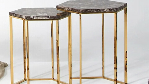 Hito Marble Side Table