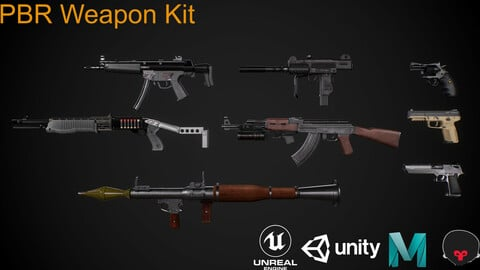 PBR Weapons Kit