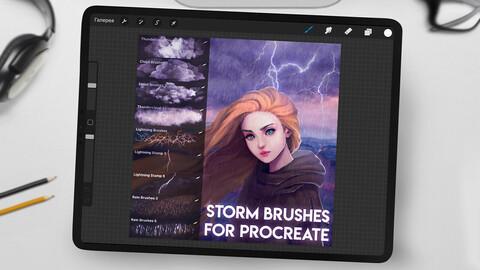 Storm Brushpack for Procreate